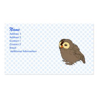Ollie Owl Business Card Template