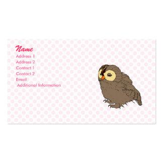 Ollie Owl Business Card Templates