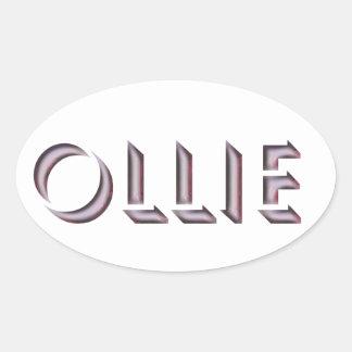 Ollie sticker