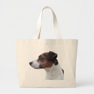 Ollie the Jack Russell Tote Bags