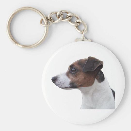 Ollie the Jack Russell Keychain