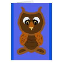 Ollie The Owl Card