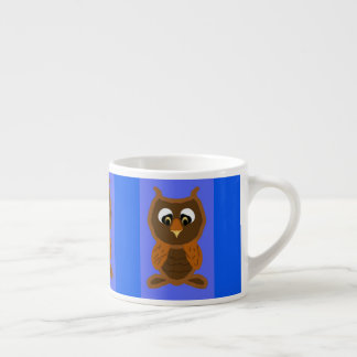 Ollie The Owl Espresso Cup