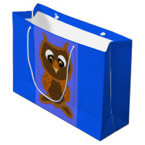 Ollie The Owl Large Gift Bag