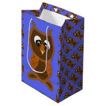 Ollie The Owl Medium Gift Bag