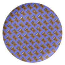 Ollie The Owl Melamine Plate