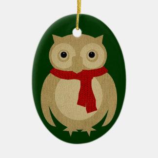 Ollie the Owl Ornament