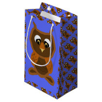 Ollie The Owl Small Gift Bag