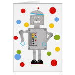 Ollie The Robot Greeting Card