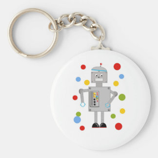 Ollie The Robot Keychain