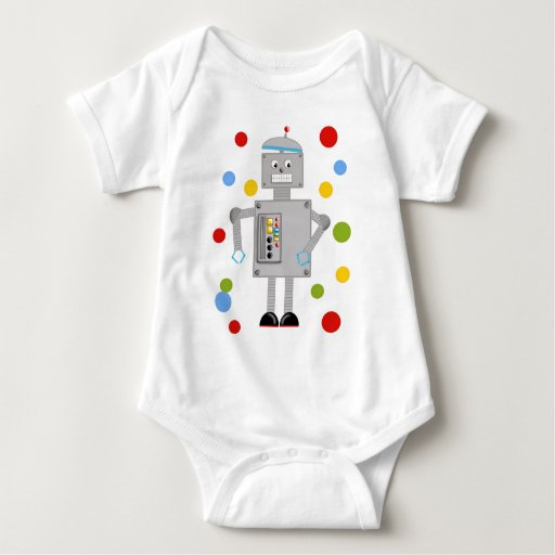 Ollie The Robot Tees