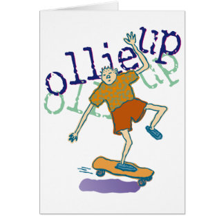 ollie up Invitation Stationery Note Card