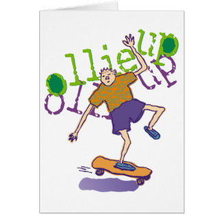 ollie up Party Invitation