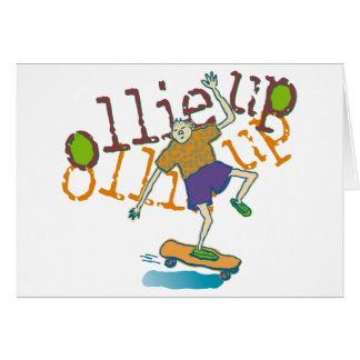 ollie up Party Invitation Stationery Note Card