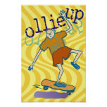 ollie up Poster