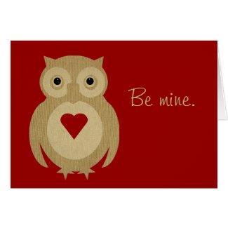 Ollie Valentine Card