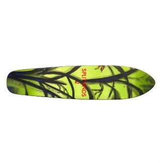Ollie with SPLIT ENDS 2 Skateboard