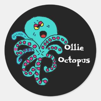 OllieOctopus, OllieOctopus Classic Round Sticker