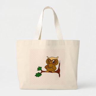 Olly Owl Tote Bag