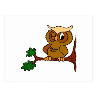 Olly Owl Postcard