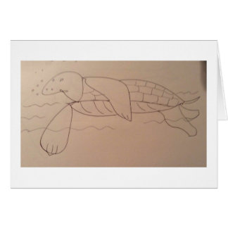 Olly Sea Tortoise, Original Card