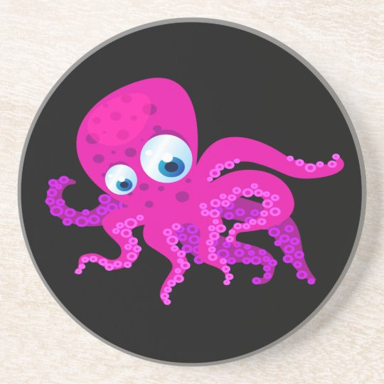 Olly The Octopus Drink Coaster