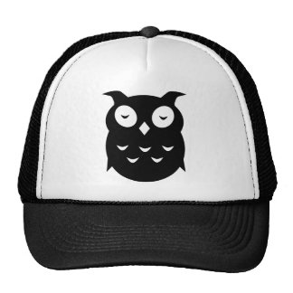 Olly the wise old owl mesh hat