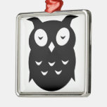 Olly the wise old owl ornaments
