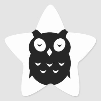 Olly the wise old owl star sticker