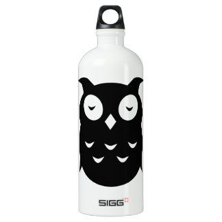 Olly the wise old owl water bottle