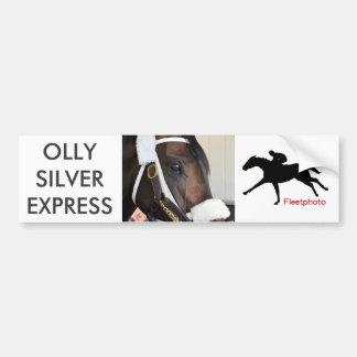Ollysilverexpress Bumper Sticker