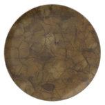 Olmec PlainsTexture Organic Designer Plate