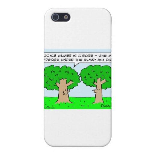olmos del deseo del kilmer de joyce debajo de árbo iPhone 5 fundas
