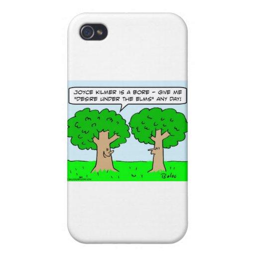 olmos del deseo del kilmer de joyce debajo de árbo iPhone 4 fundas