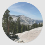 Olmsted Point II from Yosemite National Park Classic Round Sticker