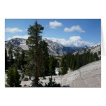 Olmsted Point III in Yosemite National Park Card