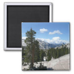 Olmsted Point III in Yosemite National Park 2 Inch Square Magnet