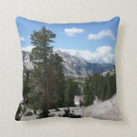 Olmsted Point III in Yosemite National Park Throw Pillow