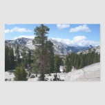 Olmsted Point III in Yosemite National Park Rectangular Sticker