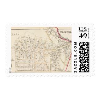 Olneyville Providence Rhode Island Stamp