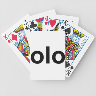 olo playing cards