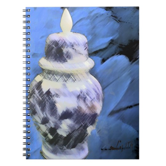 OLOKUN FEATHERS SPIRAL NOTEBOOK