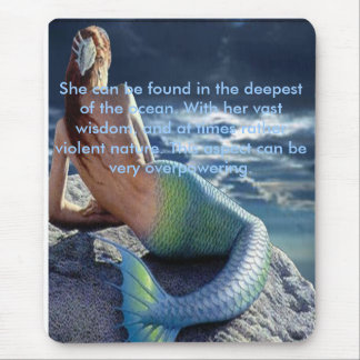 OLOKUN OF THE SEA BY LIZ LOZ MOUSE PAD