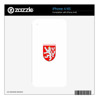 Olomouc Czech Republic iPhone 4 Decals