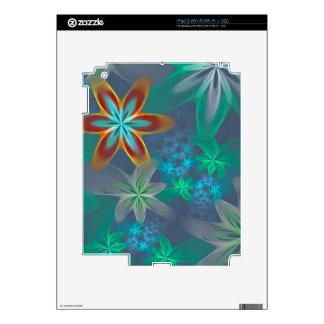 Olor 2, jardín del cielo de flor hermoso del calcomanía para el iPad 2