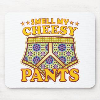 Olor caseoso de los pantalones tapete de ratones