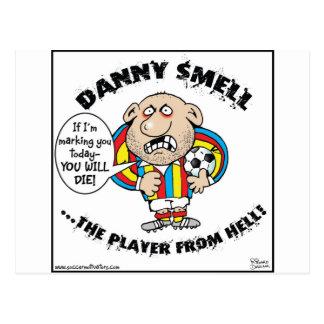 ¡OLOR de DANNY - el jugador del INFIERNO! Postal