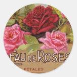 Olor de Eau De Roses french Etiquetas