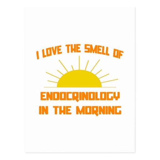 Olor de la endocrinología por la mañana postales