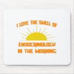 Olor de la endocrinología por la mañana alfombrilla de ratones